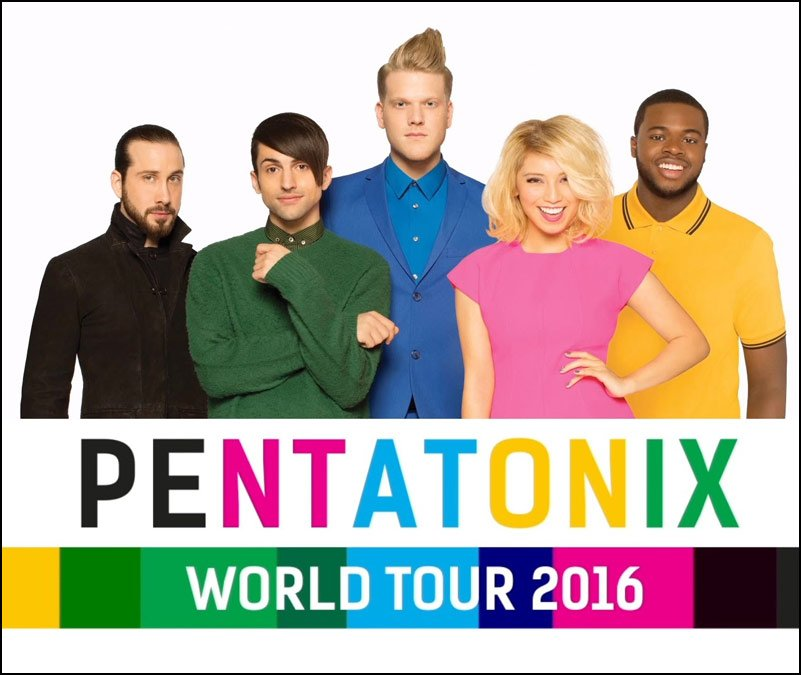 Don't miss your chance to see Pentatonix live in concert this year!