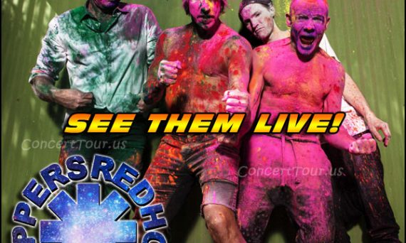Don't miss your chance to see the RED HOT CHILI PEPPERS live in concert!