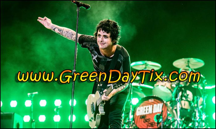 Want to see GREEN DAY Live in Concert? Now's Your Chance! Look for Tickets Above!