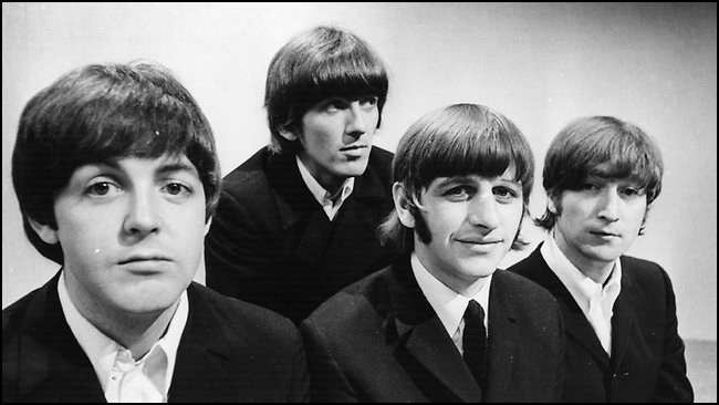 Here are The Beatles very early in their career.