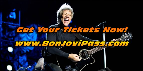 Bon Jovi's 2017 Concert Tour has already been announced and its going to be huge!