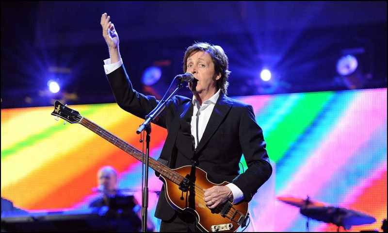 Paul McCartney obviously was able to take control of his stagefright and has performed countless times infront of audiences.