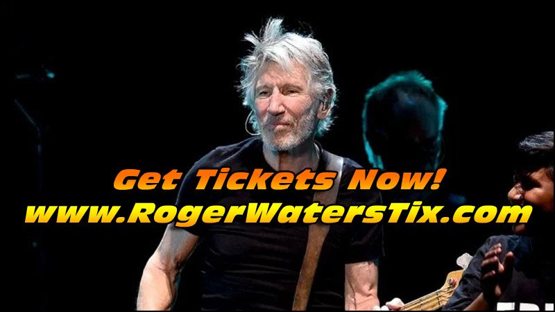 Don't miss your chance to see Rogers Waters perform some classic Pink Floyd live in concert!