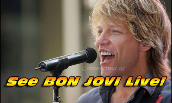 Don't Miss Your Chance To See BON JOVI Live in Concert in 2017!