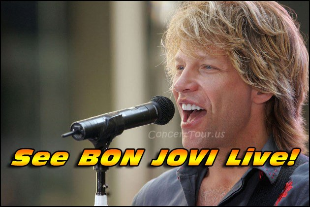 Don't Miss Your Chance To See BON JOVI Live in Concert in 2018!