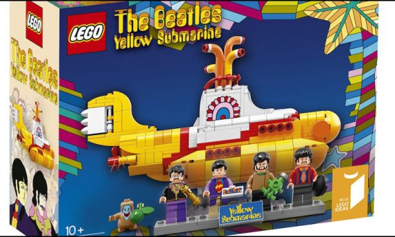 Proposed packaging for the up and coming release of The Beatles - Yellow Submarine by LEGO