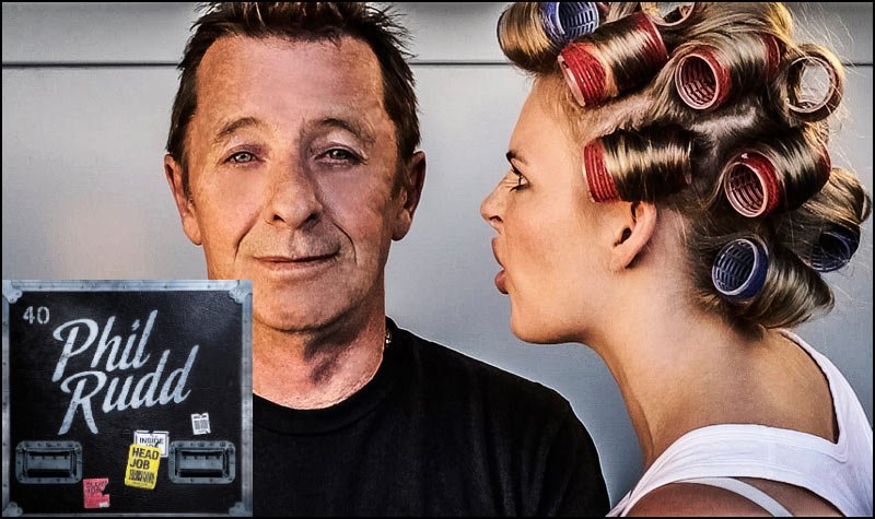 Phil Rudd, original drummer for AC/DC, releases new single Head Job, and it's Awesome. Watch video here.