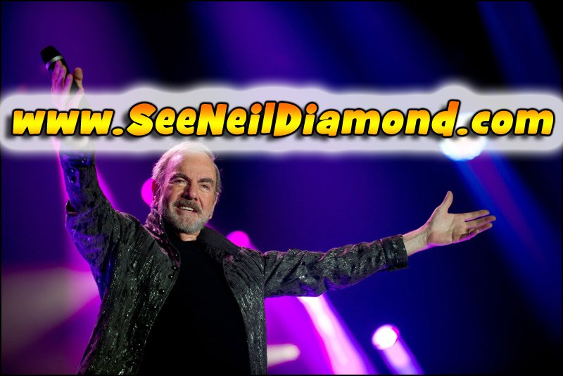 Don't miss your chance to see Neil Diamond live in concert in 2017!!