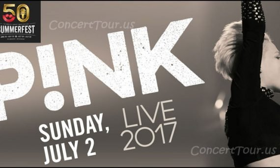 Don't miss this great opportunity to see P!NK (PINK) live in concert along with a ton of other performers!