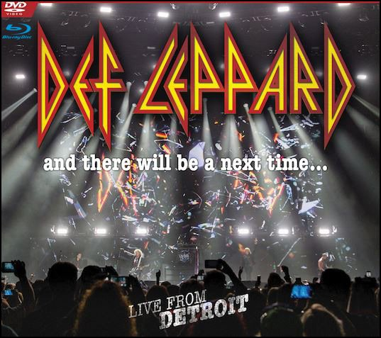 'And There Will Be A Next Time - Live From Detroit' Cover Art