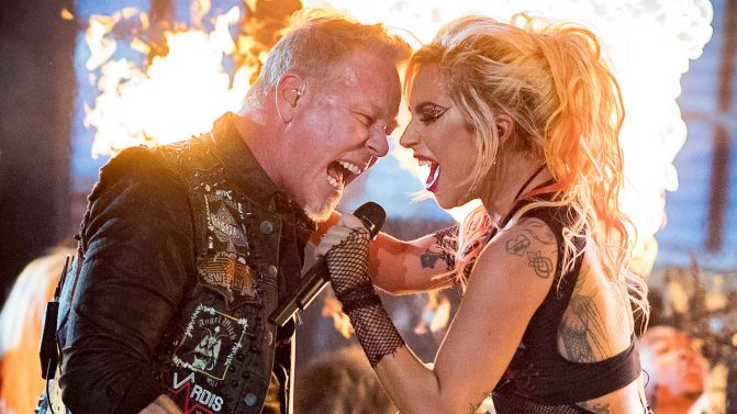 The Super Bowl performance by Lady Gaga and Metallica was pretty good, but don't expect too much more collaboration between the two.