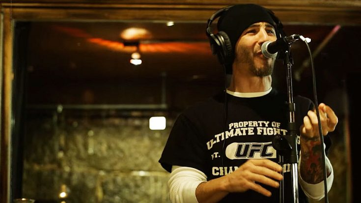 GODSMACK in the studio back in 2012 recording 'Come Together' originally by The Beatles. Take a listen in the video above.