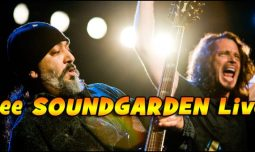 Do NOT miss your chance to see Chris Cornell with Soundgarden live on tour this year!