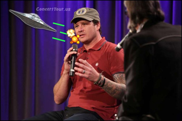 Tom DeLonge speaks about his thoughts back in 2015 at The Grammy Museum.