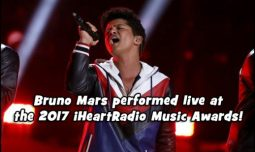 Bruno Mars was honored with the Innovator Award at the 2017 iHeartRadio Music Awards Show. He also promised new music!