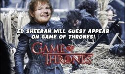 ED SHEERAN will guest appear on this season's HBO's GAME OF THRONES! We can not wait!