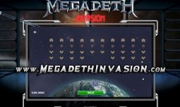 Screen shot of Megadeth Invasion video game. What's your high score??