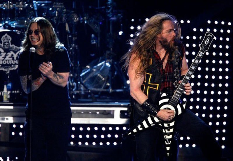 Zakk Wylde will be present on all dates of Ozzy's concert tour.