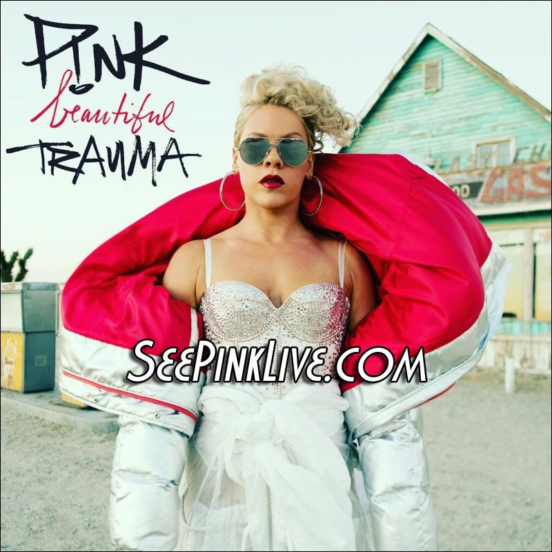 P!NK's new album 'Beautiful Trauma' will be officially released on October 13th!