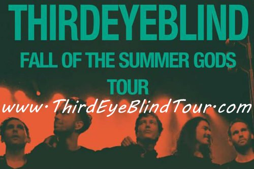 Don't miss your chance to see Third Eye Blind live in concert this year!