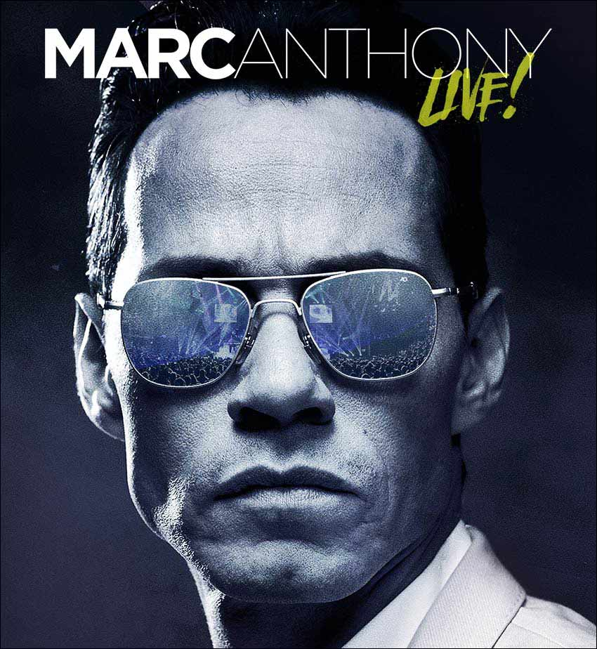 Don't miss your chance to see Marc Anthony live in concert at a venue near you!