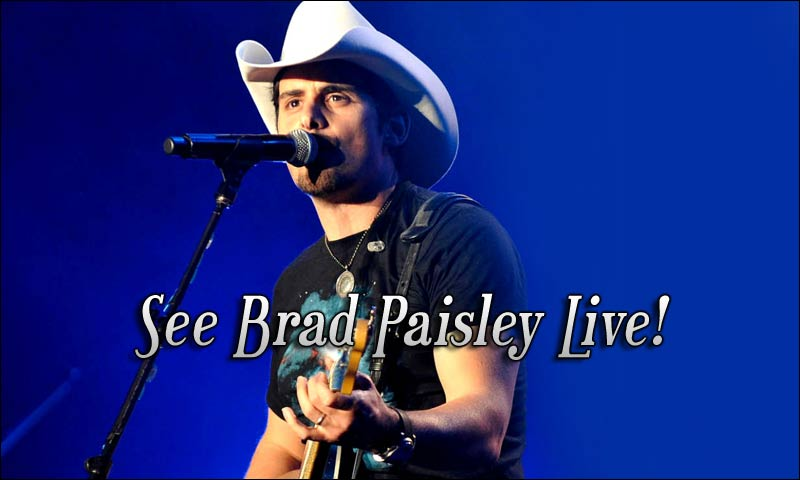 Brad Paisley will be on the road in 2018 with Dustin Lynch, Chase Bryant & Lindsay Ell. Don't miss them perform at a venue near you!