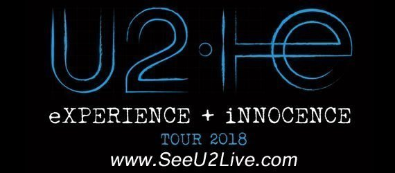 Don't miss your chance to see U2 in concert during their 2018 Innocence + Experience Tour.