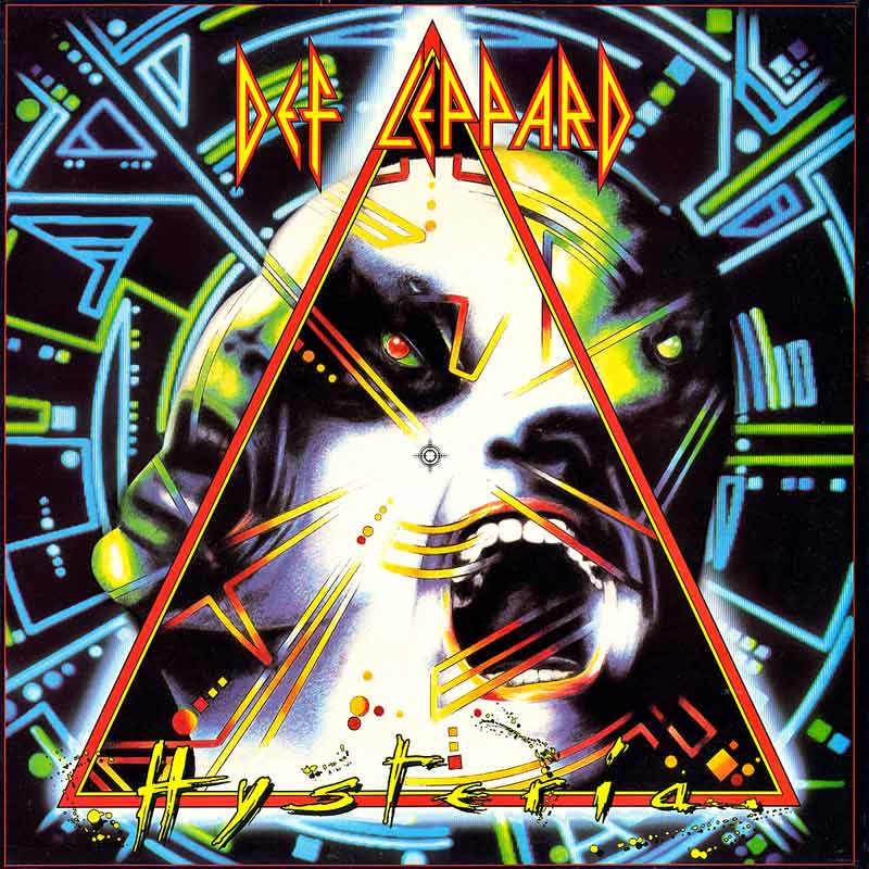 Def Leppard is considering playing their Hysteria album in full on their present concert tour.