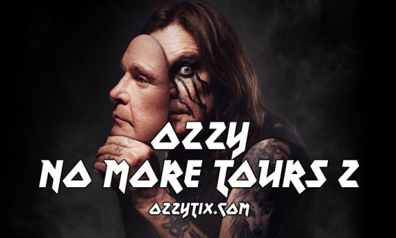 Ozzy will be on the road - No More Tours 2 w/ Stone Sour