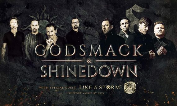 Godsmack and Shinedown join forces and hit the road on tour. Don't miss your chance to see two awesome bands.