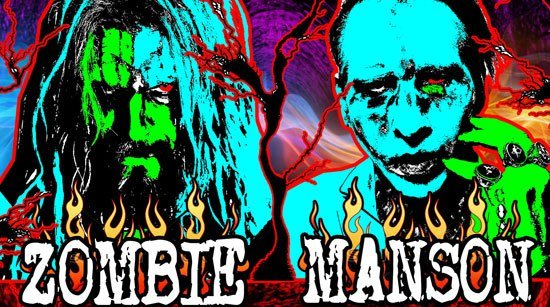 Hey Metal Fans, don't miss Rob Zombie on tour with Marilyn Manson!