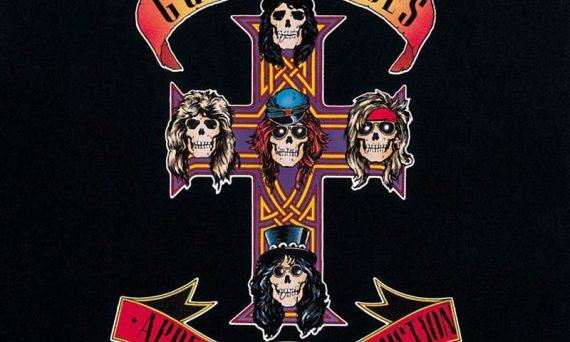 Album Cover artwork for Appetite For Destruction by Guns N' Roses.