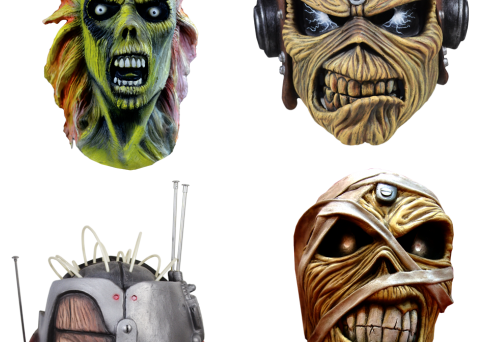 Check out some of the wicked cool Iron Maiden / Eddie Masks made by Trick or Treat Studios.