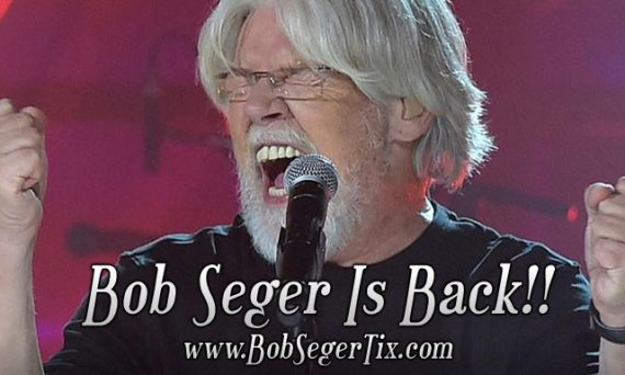 Bob Seger is back and will be finishing up his Runaway Train tour. Hopefully no one threw away their tickets.