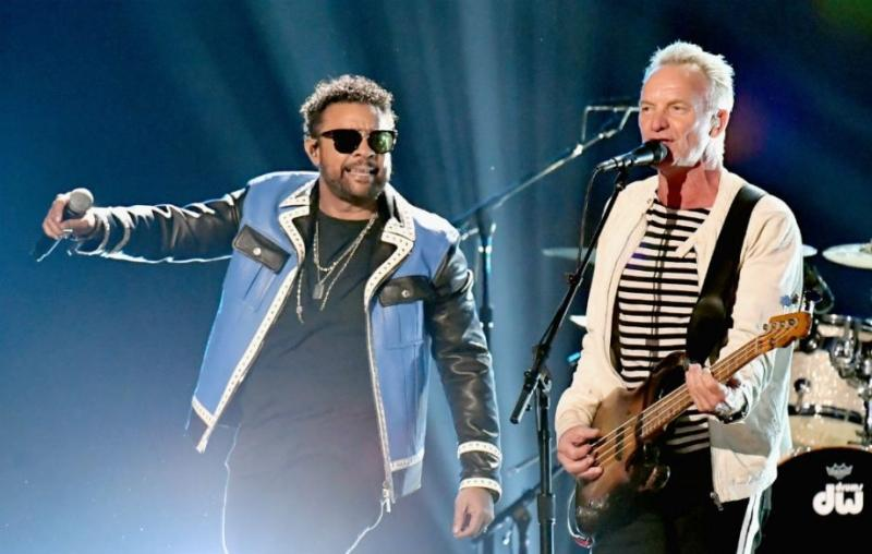 Sting performed with Shaggy at the Grammys and people were thrown for a little bit of a loop, but the duo sounded great.