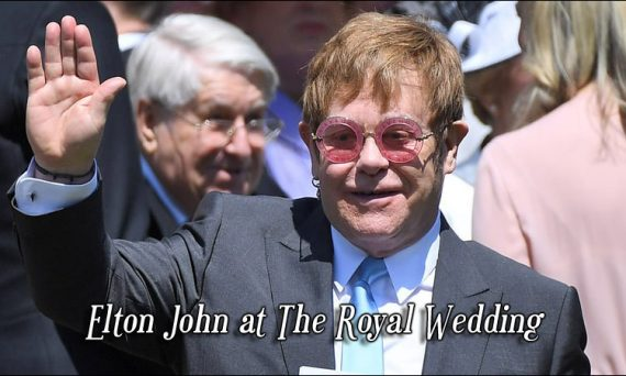 Elton John performed a total of four songs at the royal wedding of Prince Harry and Meghan Markle. He also attended the wedding.
