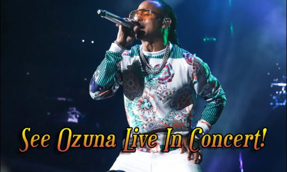 Don't miss your chance to see Ozuna live in concert. His performances are amazing to witness.