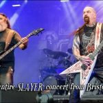 Some cool fan caught the entire Bristow concert of Slayer on video! Check out the video below and turn up your sound.