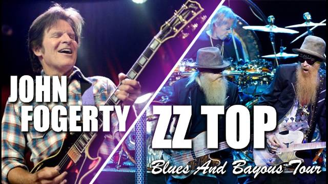 Don't miss your chance to see ZZ TOP live in concert. See them early on in the summer with John Fogerty for that extra special show.