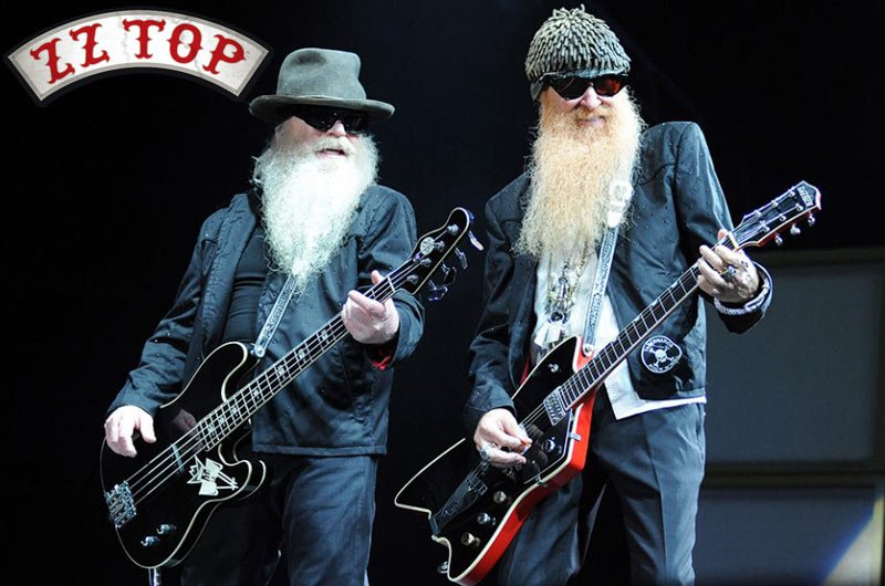 Check out Billy Gibbons, Dusty Hill and Frank Beard as ZZ Top is on tour this year!