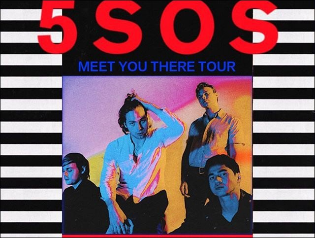 5 Seconds of Summer bring their 'Meet You There' Tour to North America beginning in late August. Don't miss it!