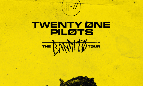 Don't miss Twenty One Pilots when they are on their Bandito Tour throughout the end of this 2018 year.