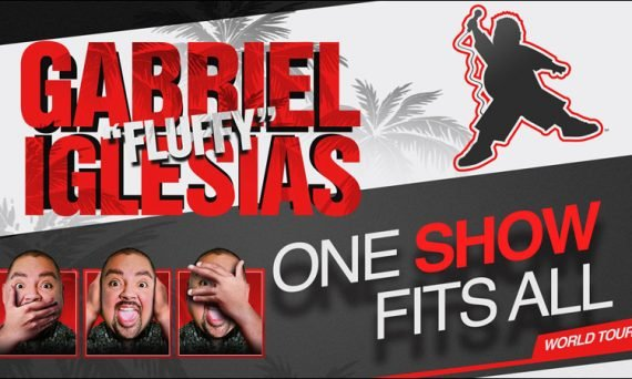 Don't miss Gabriel Iglesias as he is on tour in North America and coming to a venue near you. His comedy shows are truly hilarious.