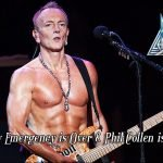Phil Collen had a family emergency which pulled him away from the Def Leppard tour, but he's back now and all is fine.