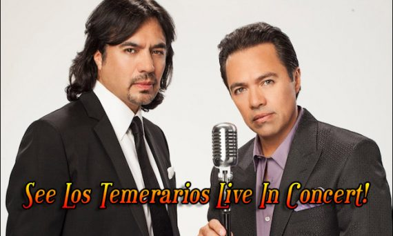 Are you a fan of romantic Latin music? If so, get ready because Los Temerarios are on tour, and could be headed your way!