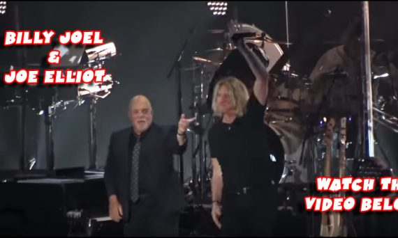 Check out the video below to watch Joe Elliot make a special appearance at a recent Billy Joel concert to perform Pour Some Sugar On Me.