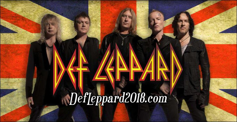 Def Leppard is already announcing tour dates beyond their trek with Journey. Check out their dates on this page!