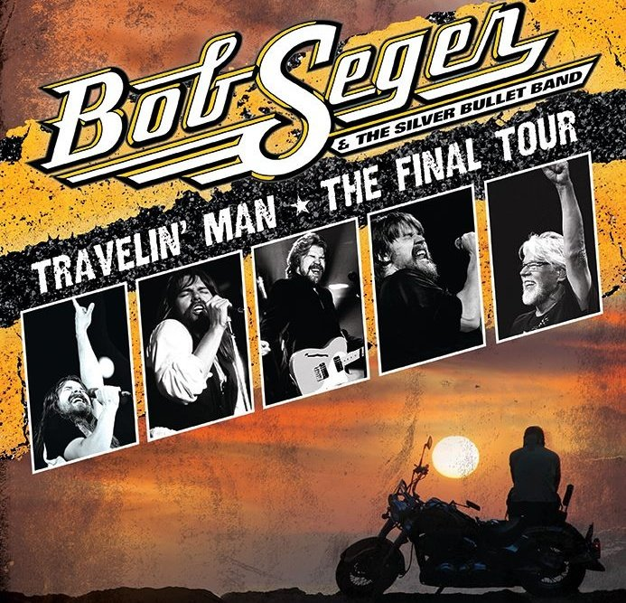 Bob Seger announces his Final Tour - Travelin' Man. Don't miss what may be your last chance to see him in concert!