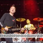 Sadly for fans, Blink-182 has just canceled their mini-tour for this fall due to the health issues with Travis Barker.