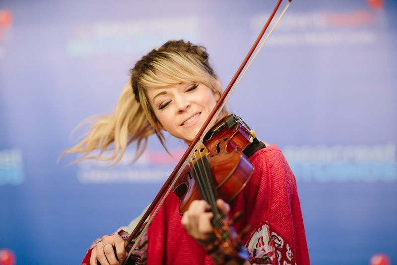 Lindsey Stirling is one of the most talented violinists to ever grace the stage.